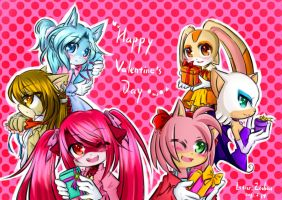 Happy Valentine's Day 2011 by Istar-Zodiac
