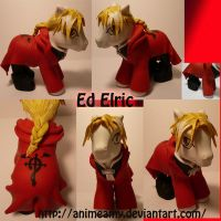 Edward Elric by AnimeAmy