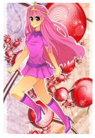 Princess Bubblegum by Dirkajek144