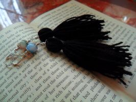 Earrings: Dr Jekyll and Mr Hyde by Soukyan