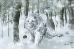 Curious Snowfall by Pagerda