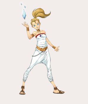Marle from Chrono Trigger colors by AshyKnuckles