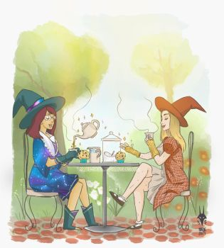 Witchy Tea Time by WitchyNade
