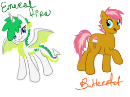 Emerlad fire and Butterfat by sweetchiomlp