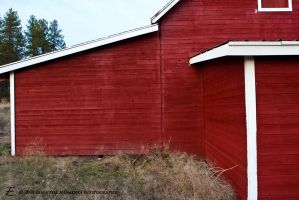 Lines of a Barn by inessentialstuff