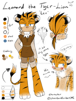 .:Ref:. Leonard the Liger by SilverfanNumberONE