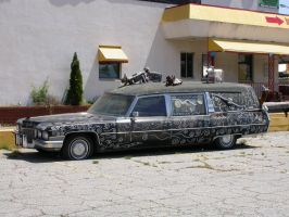 Stock - Low Rider Hearse by Jewlgurl