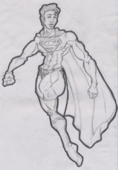 superman for comicboy by actionfigure