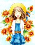 Sunflower Girl by TheStarKeepers