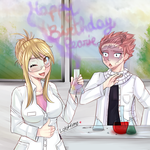 Happy birthdayday Pearie! by LoloHime