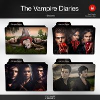 The Vampire Diaries TV Folders by VisionFolders