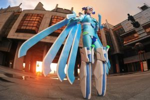 Nu(V-13)_BLAZBLUE by AMPLE-COSPLAY