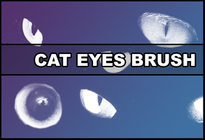 Cat eyes Brush by Faeth-design