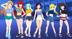 I'm Asking for More Sisters in Shorts by quamp