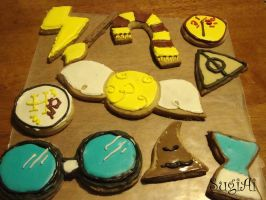 Harry Potter Objects by SugiAi