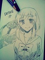 [Sketch for Dathie] Jamie by riiko23