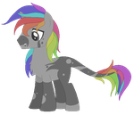 Rainchrome Pony - Auction [CLOSED] by Pikadopts