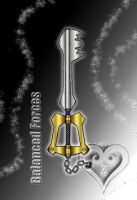 Keyblade - Balanced Forces - by WeapondesignerDawe