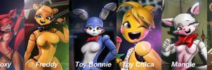 Five Nights Collection by Adry53
