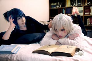 Nezumi and Shion, ordinary day by hakucosplay