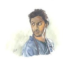 Scrubs - The Bearded Dorian by K1D6R4Y