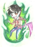 marshall lee by NiniLiger