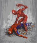 Spidey vs Carnage V3 by TuaX