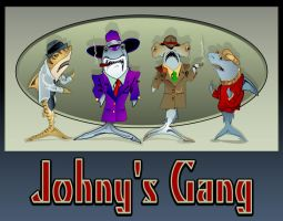 Johnny's Gang Origional Vector by auggie65