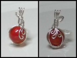 Small Red Marble by Zorias