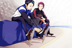 RinHaru Week - Day 5 - Before the race... by Yohao88
