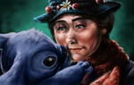 Stitch meets Mary Poppins by Rayluaza