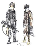 Callentine Battle Uniforms by contrail09