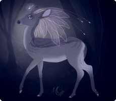 Fairy Doe Concept ''Crown of Wings'' by Fainalotea