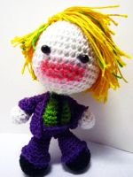 Batman - Joker Doll by Nissie