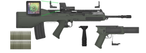 E24 Assault Rifle Update by cravenm