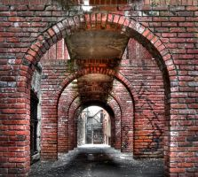 Archways by Itsuo