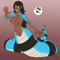 Crius Winter Reference - Nude by FicusArt