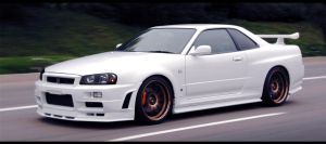 Nissan Skyline R34 by ecKKKo