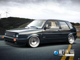 Volkswagen Golf mk2 by CapiDesign