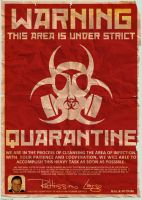 REPO: Quarantine Area Poster by tranimation-art