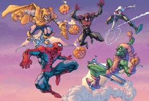 Spiders and Goblins Colors by mikebowden