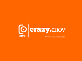 crazy.mov logo by gufranshaikh