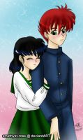 kagkur - young love x3 by amethyst-rose