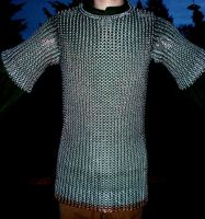 New Chainmaille Shirt by Vulpine-Hammer