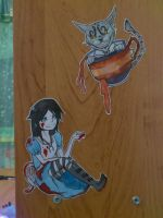 Alice and Cheshire from Madness Returns by Kimoto-chan