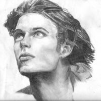 Pencil Experiment Portrait by raemae