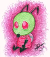 Chibi Zim by jackfreak1994