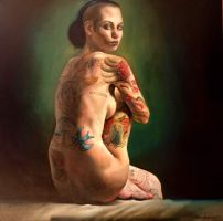Decorated Venus by nailone