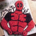 Pin Deadpool Cake Cake On Pinterest