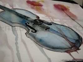 Violino by mascaradegesso